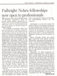 Fulbright-Nehru