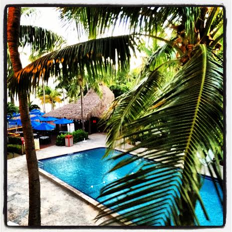View from the balcony of our suite at Islamorada
