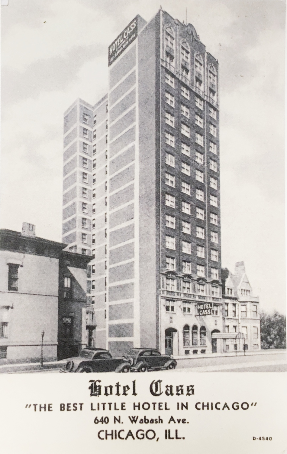 Chicago hotel- The Hotel Cass