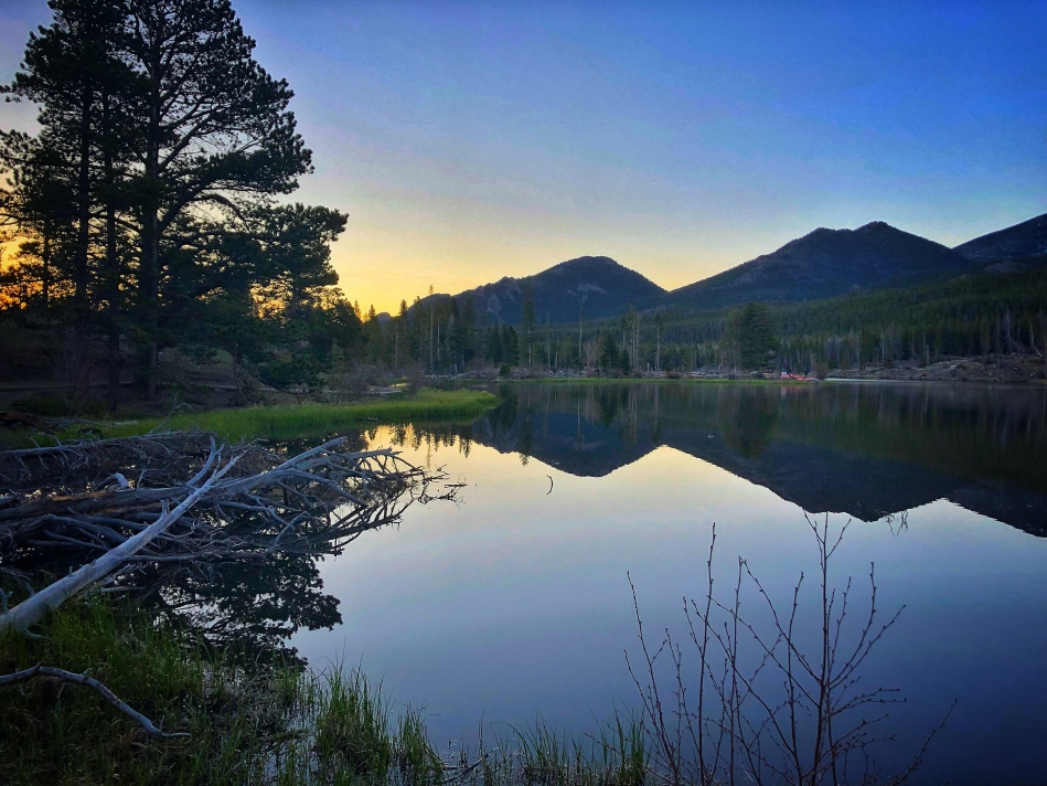 Sprague Lake, Rocky Mountain National Park lakes, what to do in RMNP, off season in Rocky Mountain, short trails in Rocky Mountain National Park, easy trails in Rocky Mountain national Park, where to see moose in RMNP