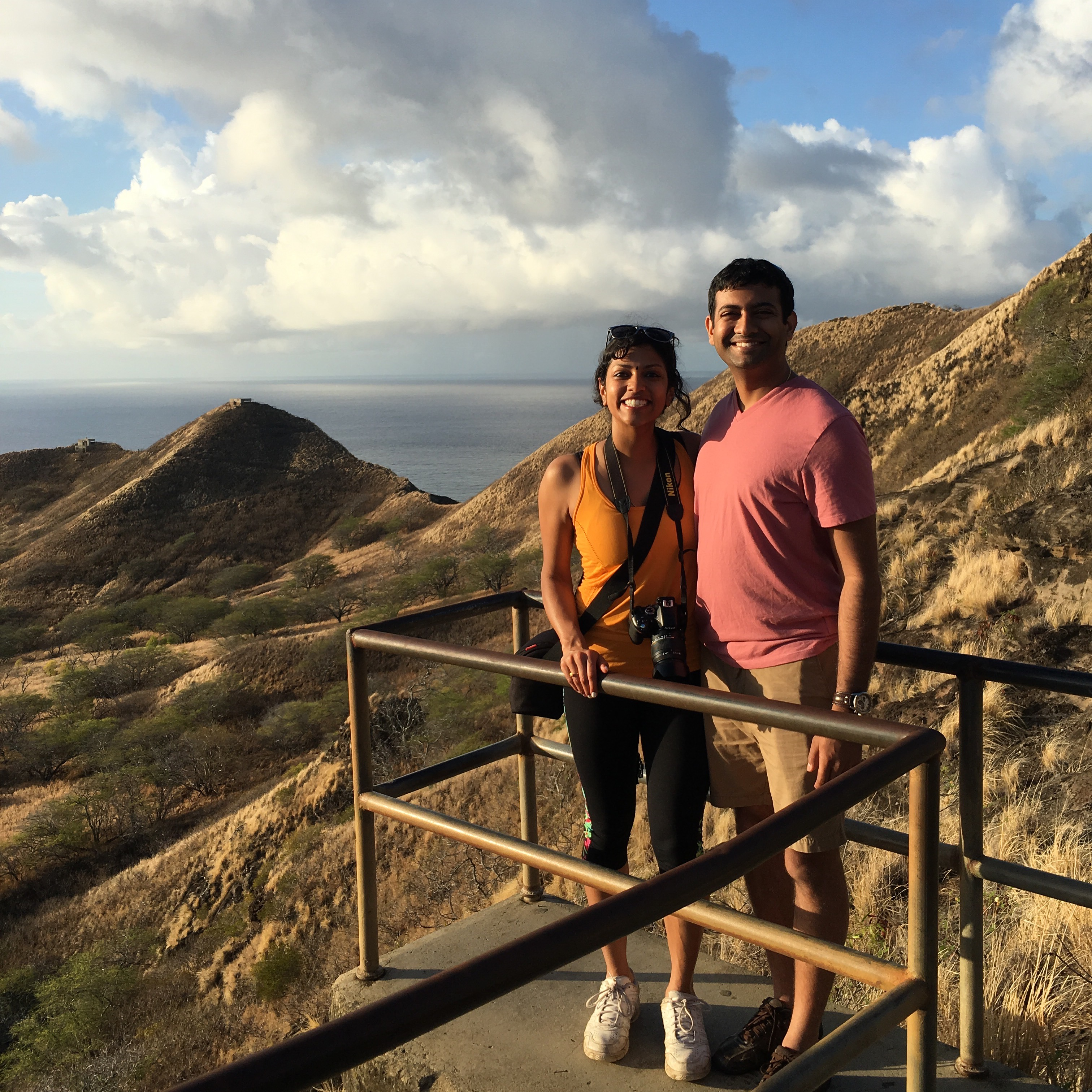 Diamond head crater, Sunrise at Diamond Head, Honolulu things to do, Oahu things to do, hikes on Oahu, Oahu trails, sunrise trails